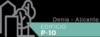 Logo EDIFICIO P-10