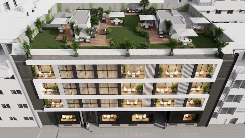 Detalle: obra nueva Edificio AM-7