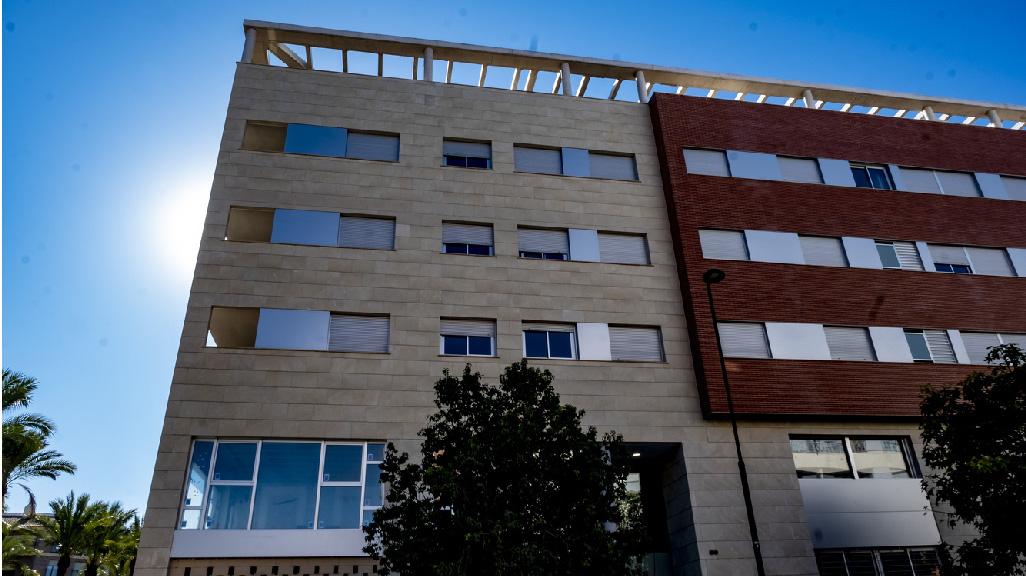 Detalle: obra nueva Edificio ENRIC VALOR 1