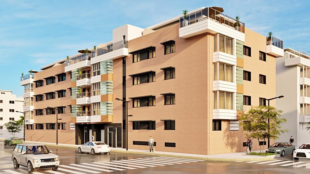 Detalle: obra nueva Edificio PLAZA II