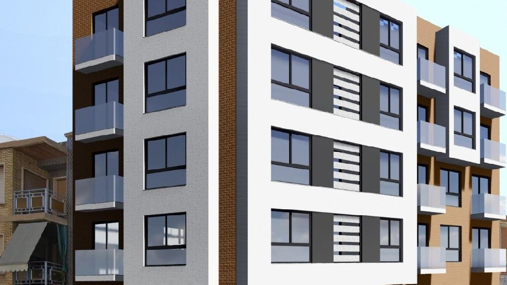 Detalle: obra nueva Edificio MR-3