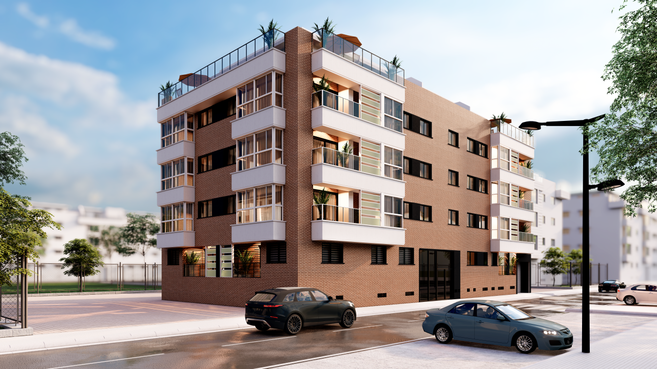 Detalle: obra nueva Edificio PLAZA IV