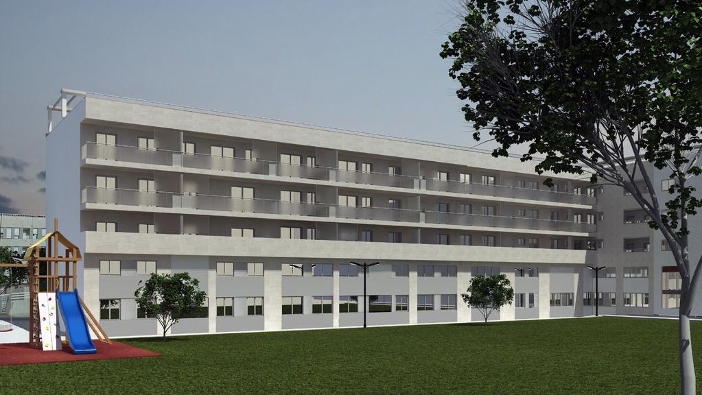 Detalle: obra nueva Edificio ENRIC VALOR 9