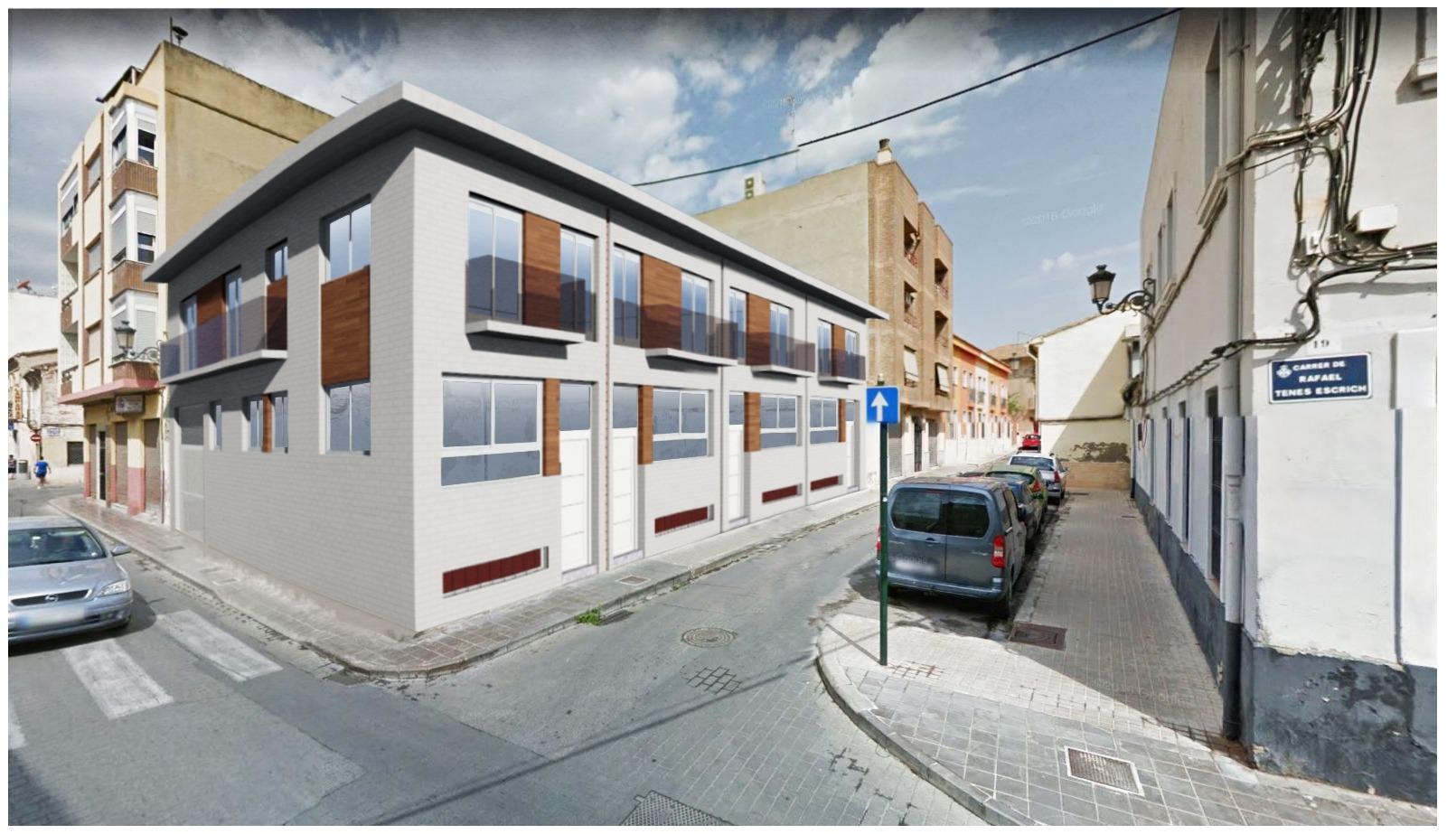 Detalle: obra nueva Residencial  RAFAEL TENES - 19