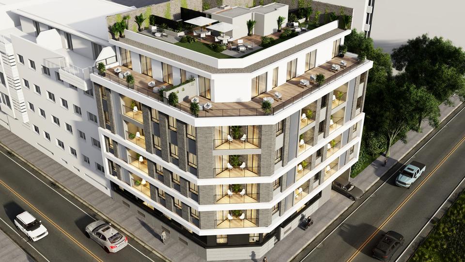 Detalle: obra nueva Edificio FG-122